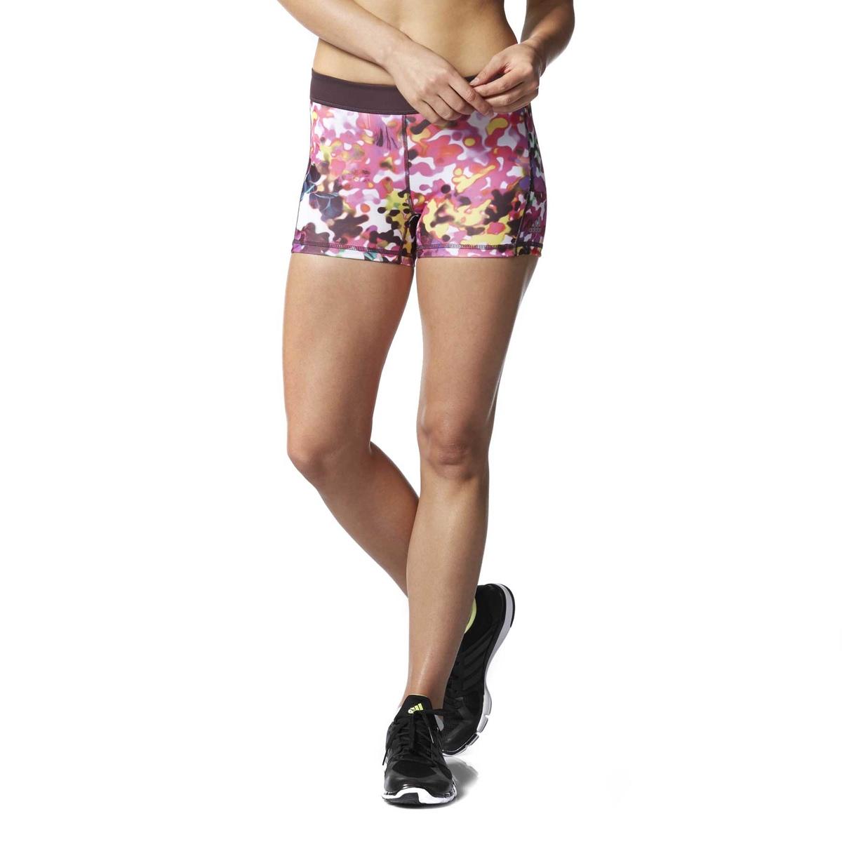 Pantaloncino tight 3 floralprint donna