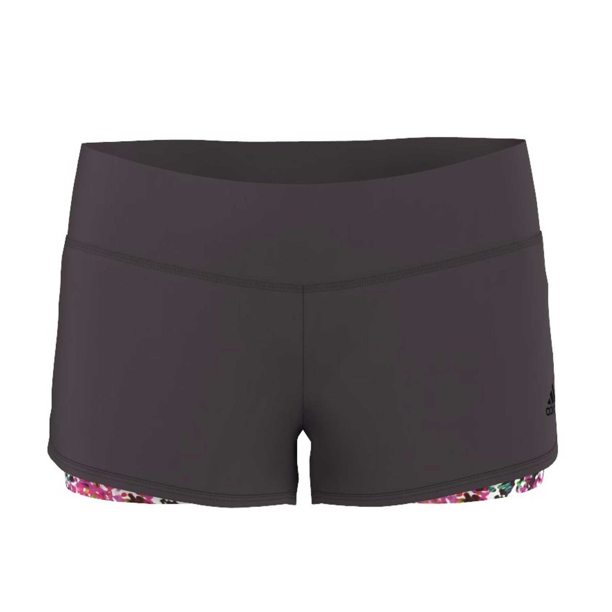 Pantaloncino gym 2 in 1 donna