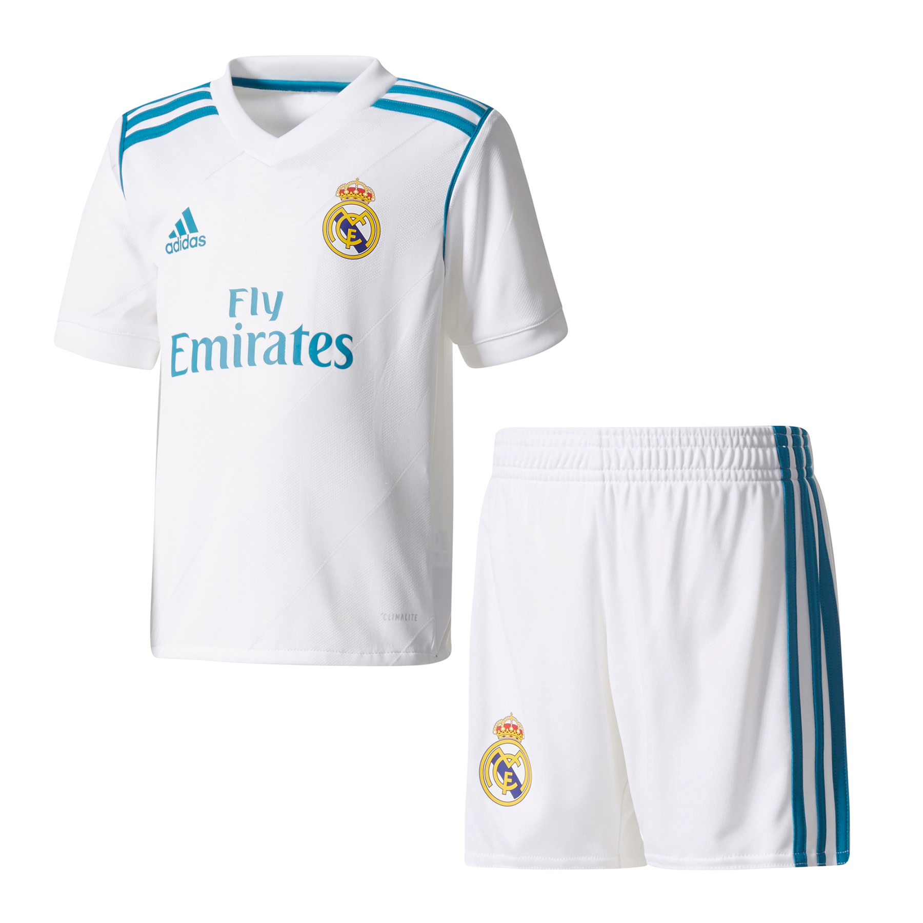 Completo Real Madrid 2017 / 2018 baby