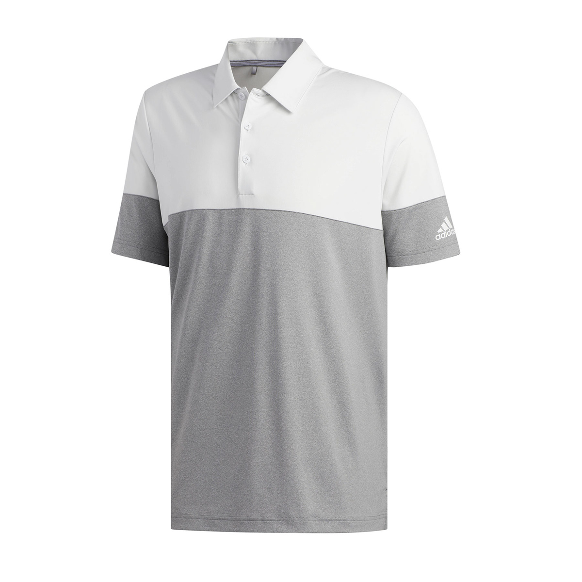 POLO ULTIMATE365 HEATHER BLOCKED