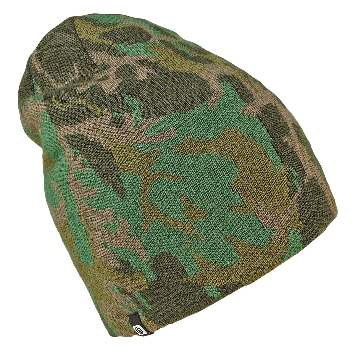 Beanie B-camo verde militare