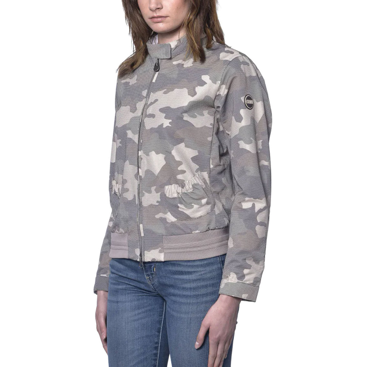 Bomber camouflage linea Research donna