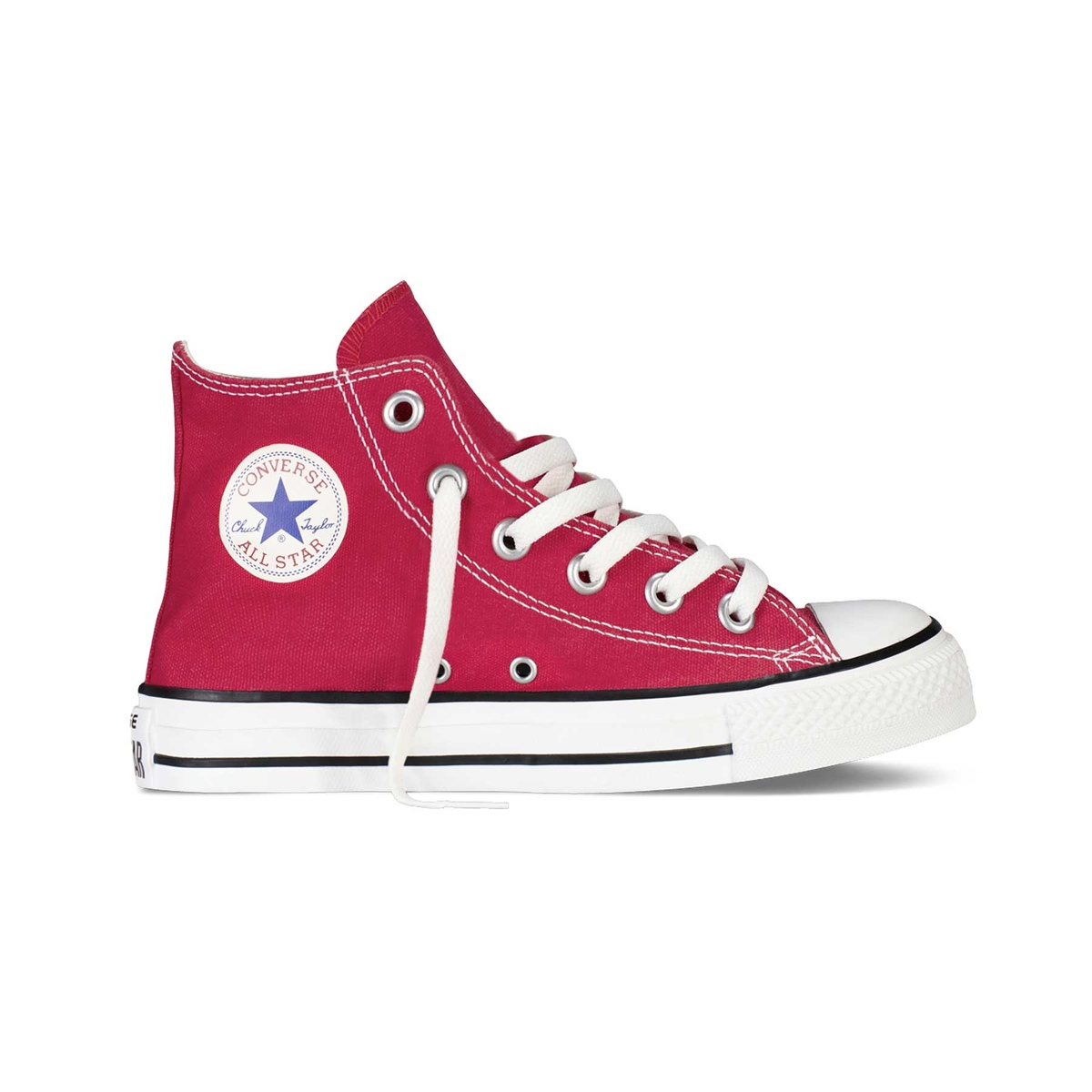 All Star hi canvas rosse bambino
