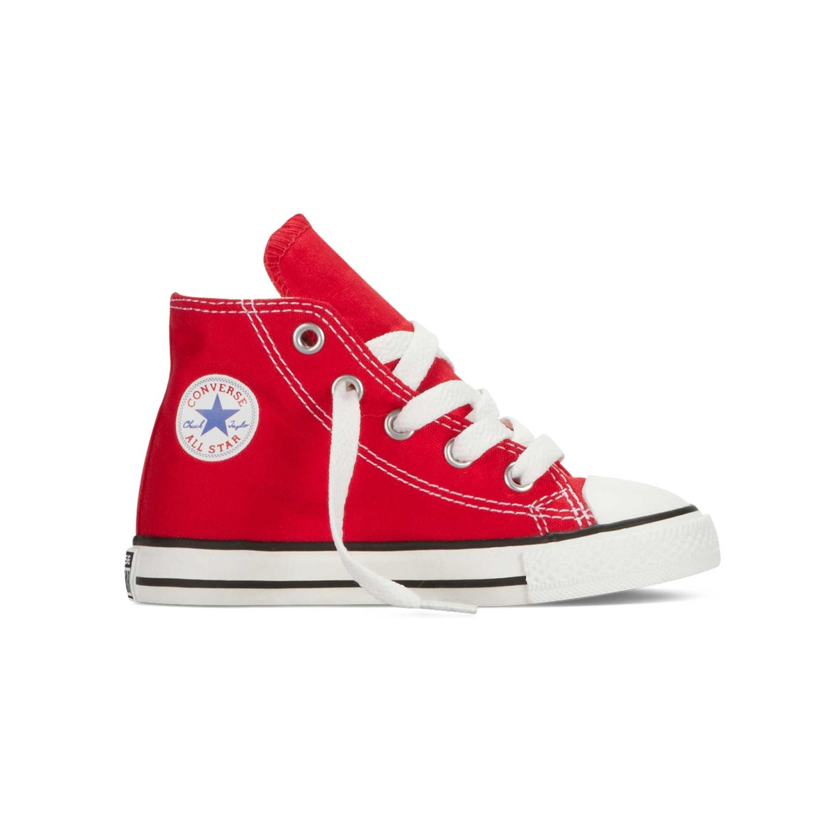 all star hi canvas bambino rosse