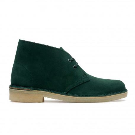 Desert boot dark green