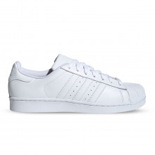 Adidas Originals B27136 Superstar Foundation Bianche Tutte Sneaker Uomo
