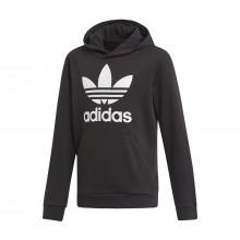 Adidas Originals Dv2870 Felpa Con Cappuccio Trefoil Bambino Abbigliamento Bambino