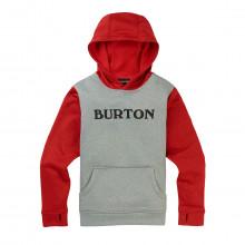 Burton 16218108 Felpa Con Cappuccio Oak Bambino Abbigliamento Snowboard Bambino