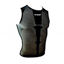 Bv Sport 402/001 Canotta Rete Tecnico Abbigliamento Running Uomo