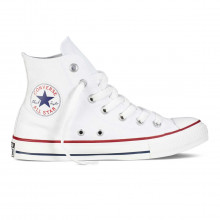 Converse X/m7650 Chuck Taylor All Star Hi Bianche Tutte Sneaker Uomo