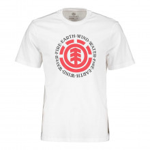 Element Q1ssa8 T-shirt Seal Street Style Uomo