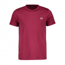 Fred Perry M3519 T Shirt Logata Ringer Casual Uomo