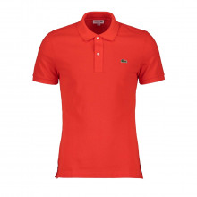 Lacoste Ph4012 Polo Slim Ph4012 Arancio Casual Uomo