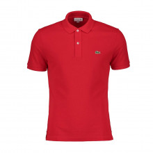 Lacoste Ph4012 Polo Slim Ph4012 Rossa Casual Uomo