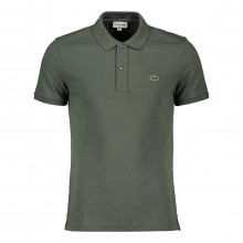 Lacoste Ph4012 Polo Slim Ph4012 Verde Militare Casual Uomo