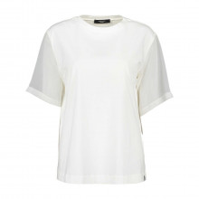 Max Mara Weekend Mallo T-shirt In Jersey  Cotone Maniche In Voile Donna Casual Donna