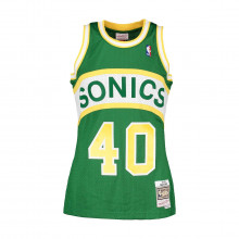 Mitchell & Ness Ba81mb Canotta Swingman Shawn Kemp #40 Supersonics Squadre Basket Uomo