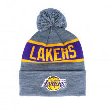 Mitchell & Ness Intl536 Beanie Pon Pon Lakers Accessori Basket Uomo