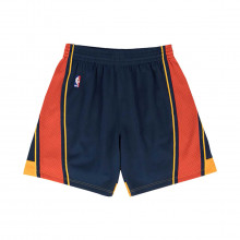 Mitchell & Ness Smshgs18232 Short Swingman Warriors Squadre Basket Uomo