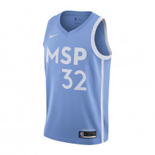 Nike Av4654 Canotta Nba City Edition Towns Timberwolves Squadre Basket Uomo