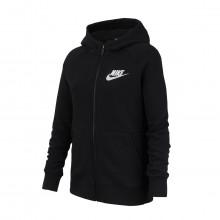 Nike Bv2712 Felpa Full Zip Con Cappuccio Nsw Bambina Abbigliamento Bambino