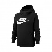 Nike Bv2717 Felpa Con Cappuccio Nsw Logo Bambina Abbigliamento Bambino