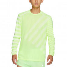 Nike Bv5392 Maglia Manica Lunga Techknit Cool Abbigliamento Running Uomo