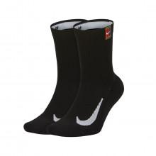 Nike Sk0118 Calze Cushioned Crew 2 Pack Abbigliamento Tennis Uomo