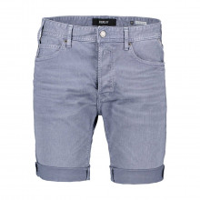Replay Ma981b8005237 Bermuda In Bull Denim Casual Uomo