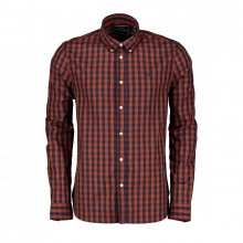 Scotch & Soda 152152 Camicia Button Down Check Casual Uomo