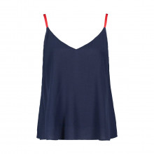 Tommy Jeans Dw0dw07957 Canotta Viscosa Donna Casual Donna