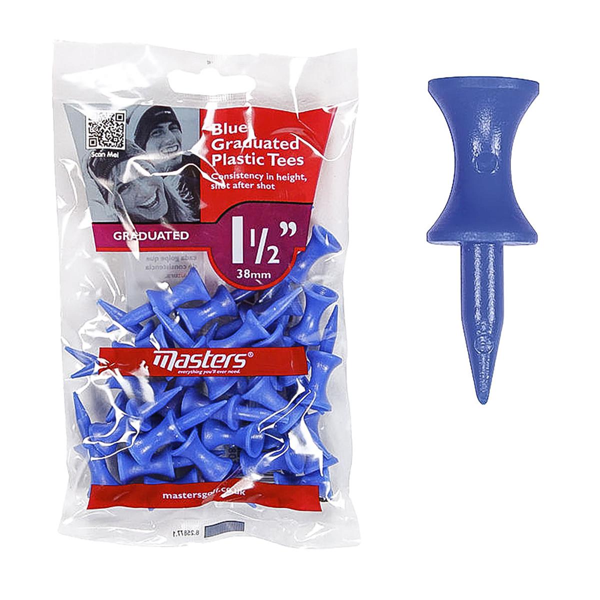 PLASTIC GRADUATED TEES 1 1/2