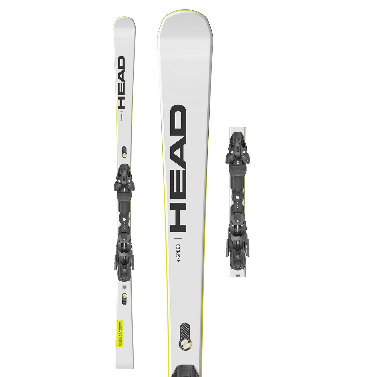 Prezzi Head WC REBELS E-SPEED SW EVO14 CON ATTACCO FREEFLEX ST 14