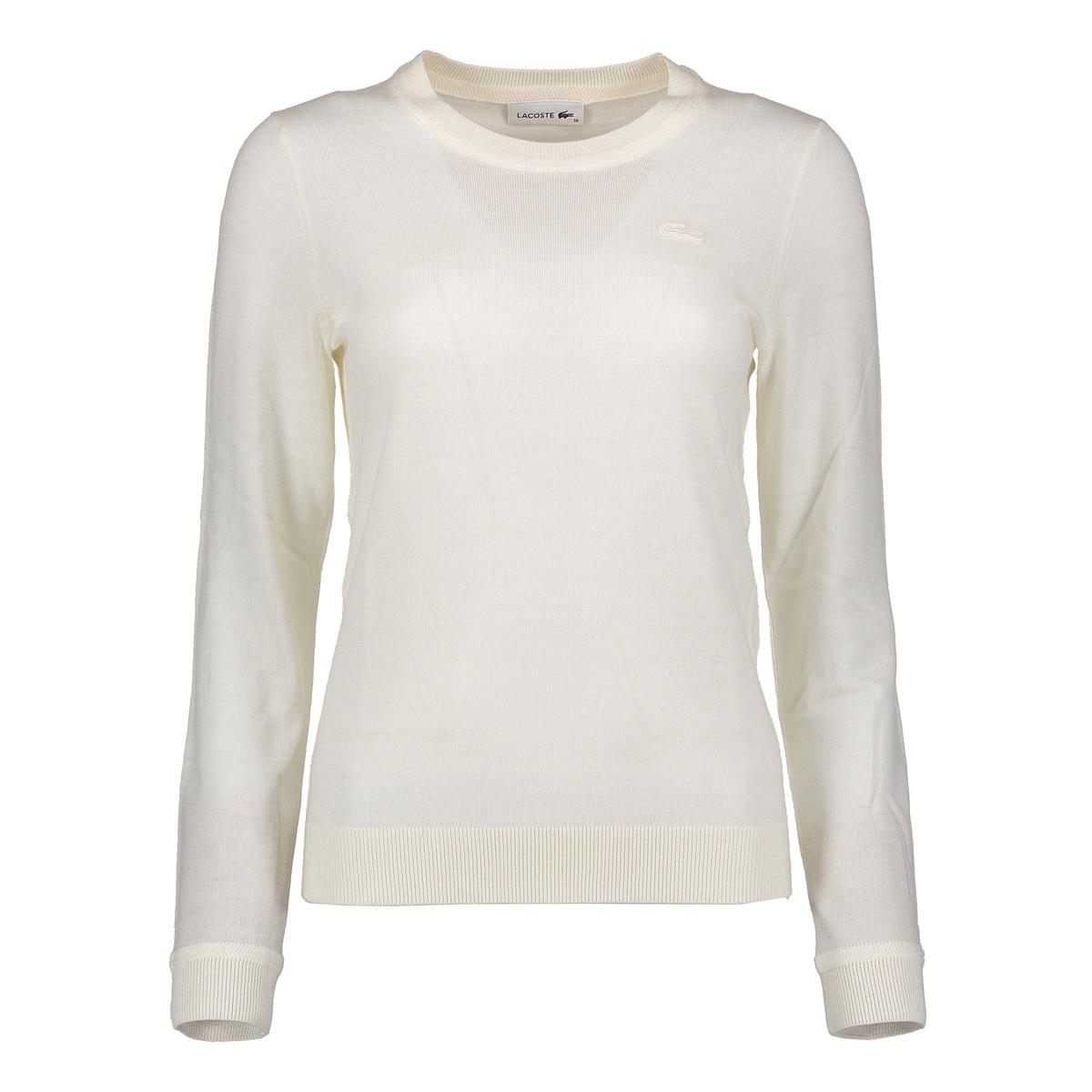 Maglione girocollo in lana donna