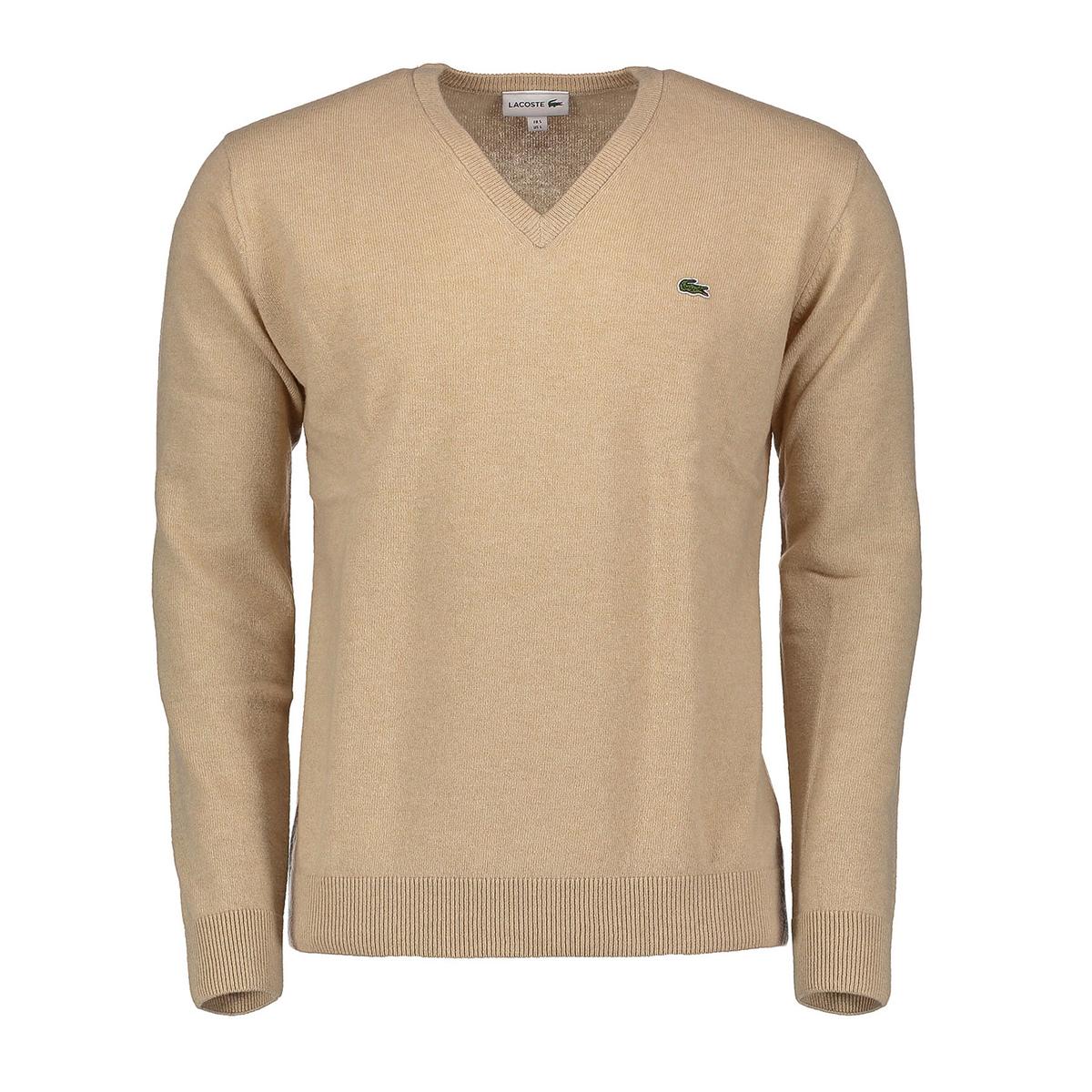Maglione scollo v 100% lana