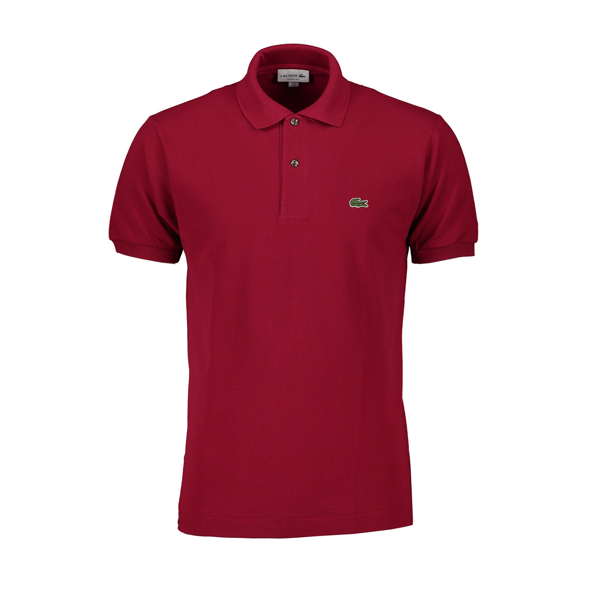 Polo L1212 bordeaux