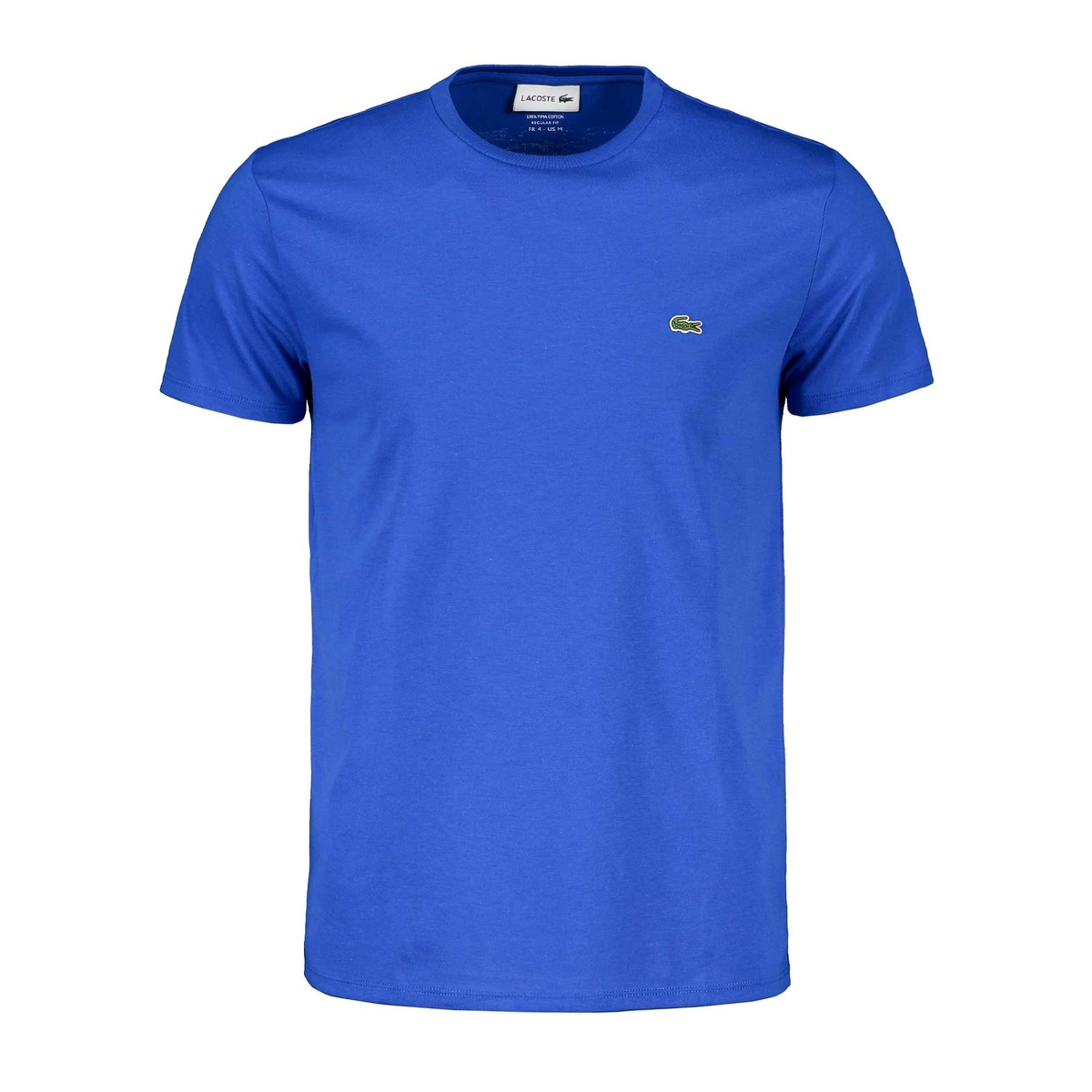 lacoste t-shirt in cotone pima uomo