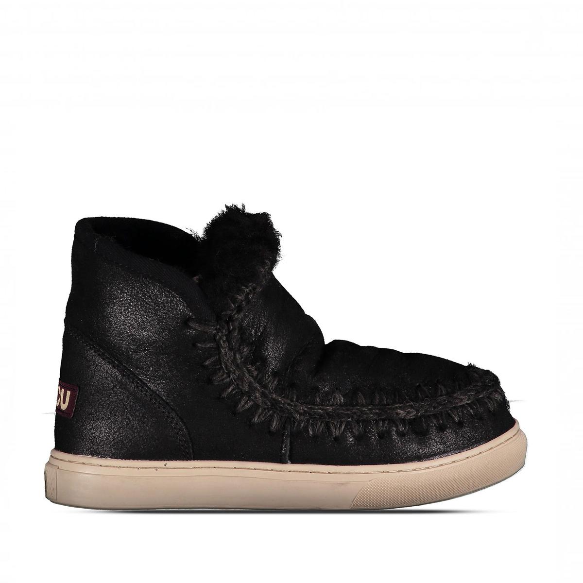 Mini eskimo sneaker nero donna