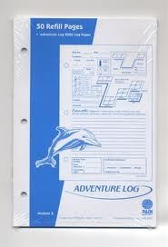 LOG PAGE REFILL INSERT