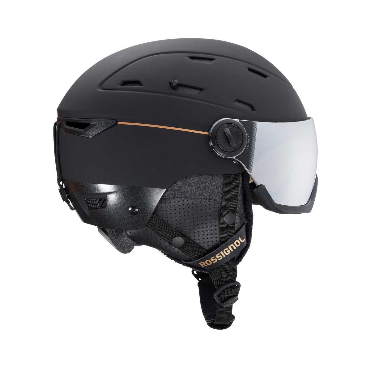 Prezzi Rossignol casco con visiera allspeed impacts donna
