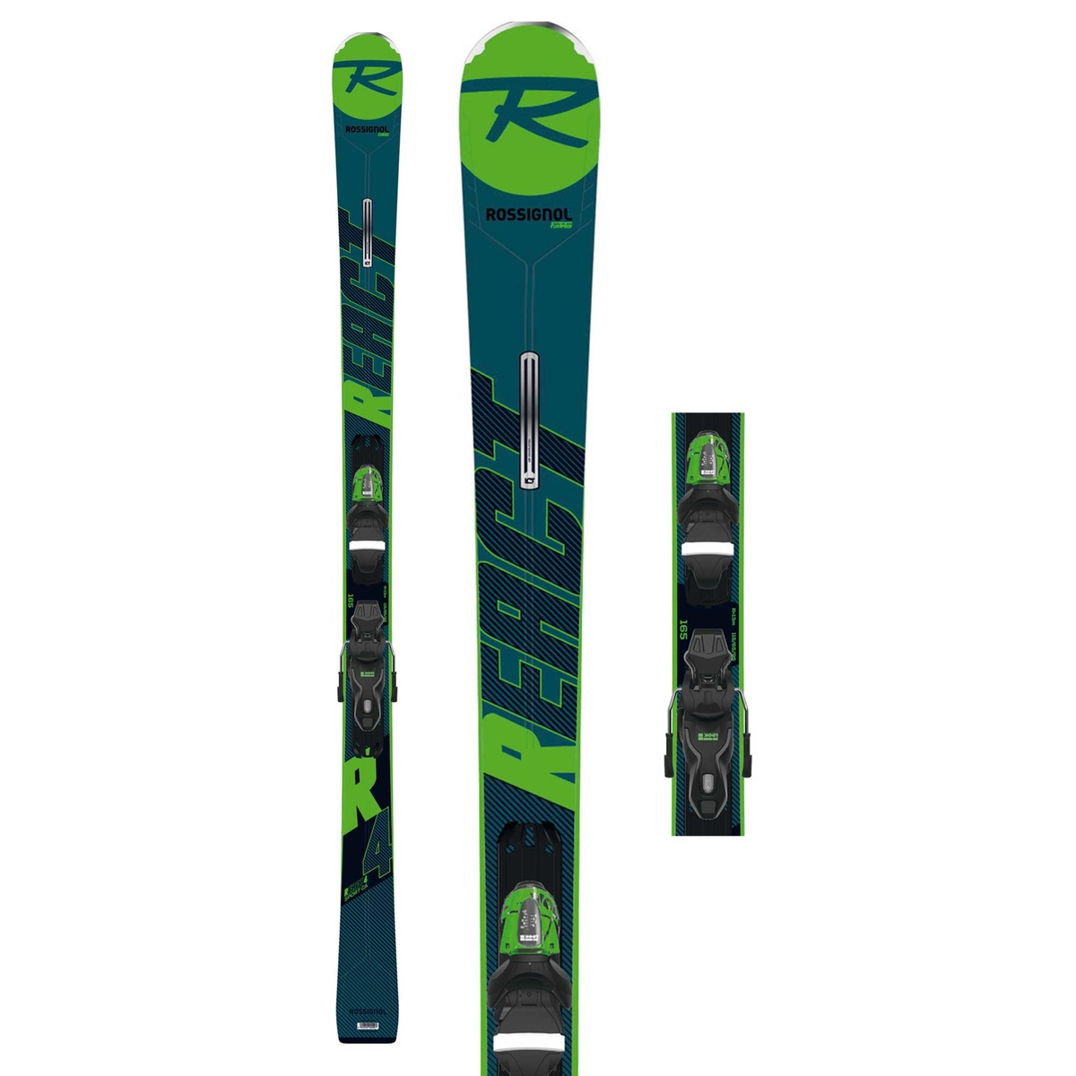 _PREMANUFACTURE_PRICE Rossignol REACT 4 SPORT CON ATTACCO XPRESS 10