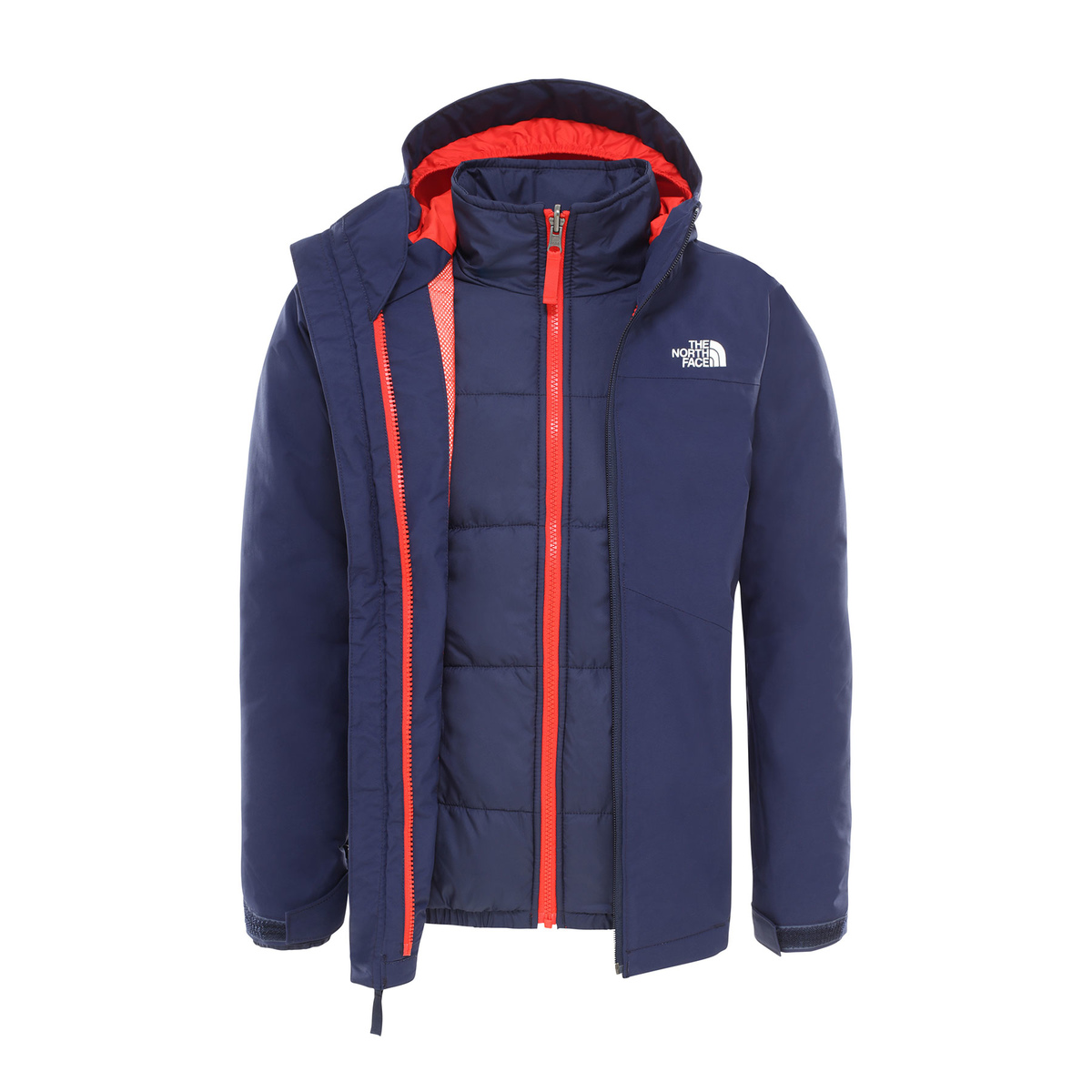 Prezzi The north face GIACCA CLEMENT TRICLIMATE BAMBINO