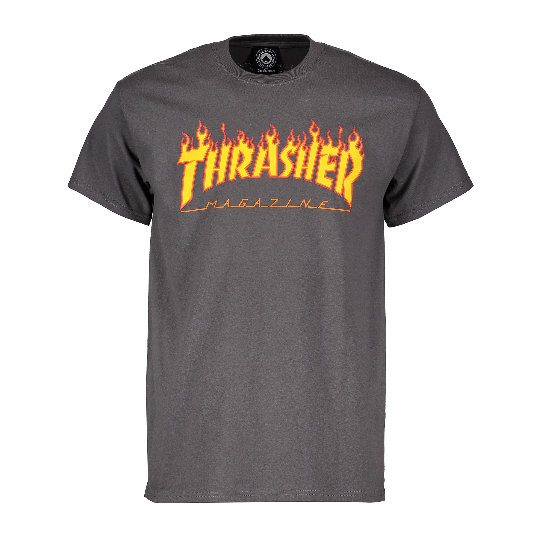 T-shirt Thrasher Magazine Flame logo