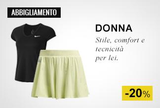 Abbigliamento Padel Donna