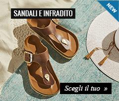 Nuove collezioni sandali e infradito