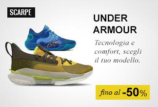 Speciale Basket, scarpe e abbigliamento fino al -50%
