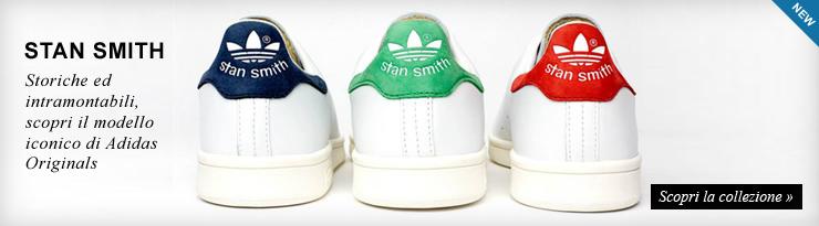 Nuova collezione scarpe Adidas Stan Smith