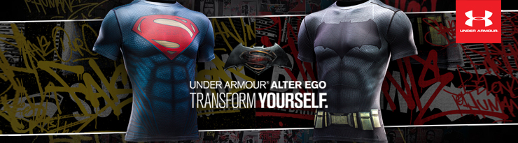 Under Armour Alter Ego Batman VS Superman