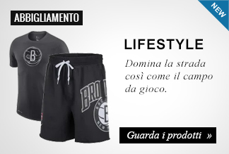 Novità abbigliamento lifestyle basket
