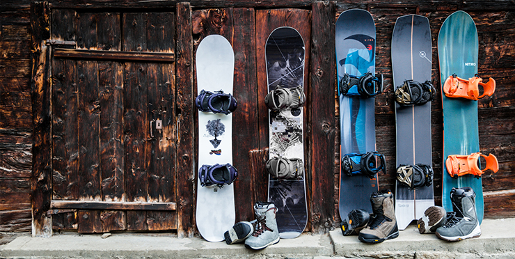 Come scegliere la tua tavola snowboard